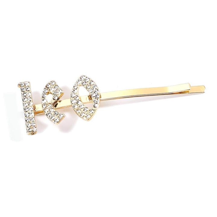 Hair Clips Bobby Pins Paved Constellation-Leo - IM Beauty