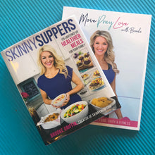 Load image into Gallery viewer, Healthy Lifestyle Book Bundle: Skinny Suppers Cookbook and Move Pray Love Nutrition Plan