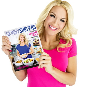 Healthy Lifestyle Book Bundle: Skinny Suppers Cookbook and Move Pray Love Nutrition Plan