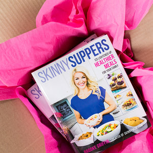 Skinny Suppers Cookbook-Signed Copy-Brooke Farmer