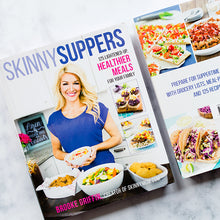 Load image into Gallery viewer, Skinny Suppers Cookbook-Signed Copy-Brooke Farmer