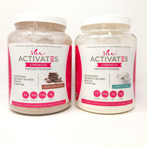 She Activates Protein Powder Duo- FREE SHIPPING