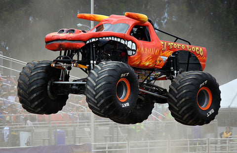 The lifted vehicle rage lead to the birth of Monster Trucks