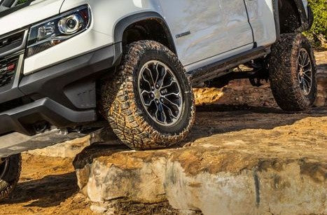 Lifted vehicles provided facilitated access to cross tough terrain