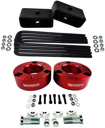 Chevrolet Silverado GMC Sierra 1500 4WD Full Leveling Lift Kit With Differentail Drop Kit