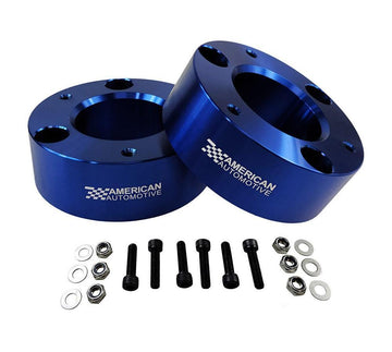 Chevrolet Silverado 1500 and GMC Sierra 1500 Pro Billet Front Strut Spacers