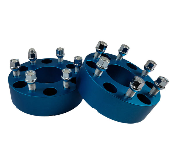 Avalanche Blue Wheel Spacers  2 pieces