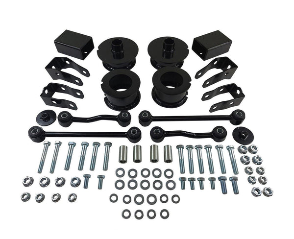 "Jeep Wrangler JL 2.5"" Front + 2.5 Rear Full Leveling Lift Kit 2WD 4WD"