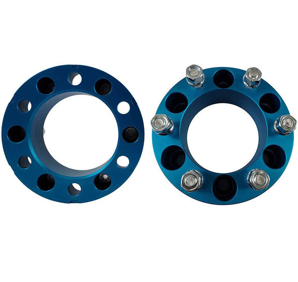 Toyota 4Runner 2WD 4WD 2-Inch Blue Wheel Spacers - zoom 02