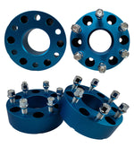 Avalanche 4 pieces 2WD 4WD 2-Inch Blue Wheel Spacers
