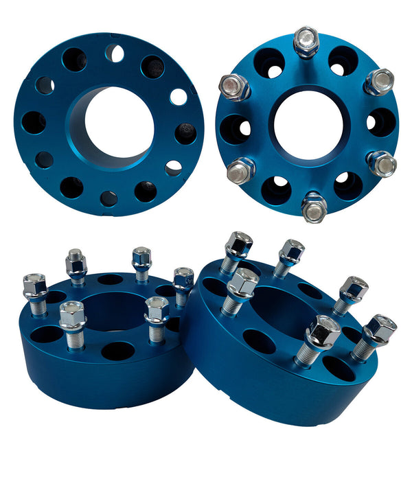 Mazda B-Series 4 pieces 2WD 4WD 2-Inch Blue Wheel Spacers