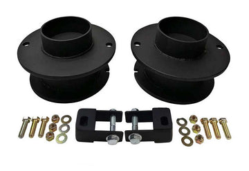 Dodge Ram 2500 3500 4WD Front Spring Spacers with Shock Extenders