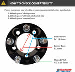 Ford Explorer and Sport Trac 2WD 4WD 2-Inch Wheel Spacers Compatibility Check