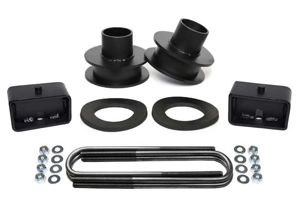 Ford F250 F350 Super Duty 4WD Full Lift Kit black
