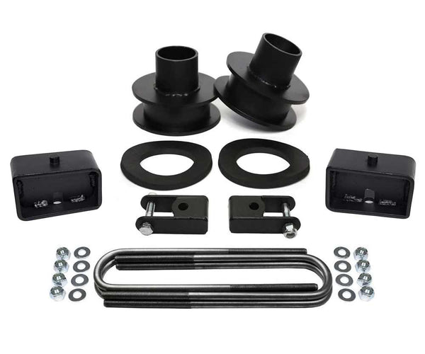 Ford F250 F350 Super Duty 4WD Full Suspension Leveling Lift Kit black