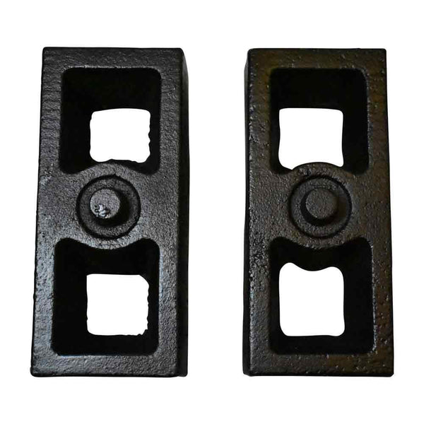 GMC K1500 K2500 K3500 Rear Cast Iron Tapered Lift Blocks details
