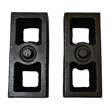 GMC Sierra 1500HD 2WD 4WD Rear Cast Iron Tapered Lift Blocks