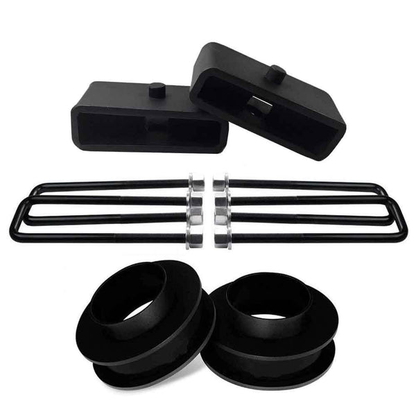 GMC Sierra Chevrolet Silverado 1500 2WD Leveling Lift Kit with 1.5 inch lift blocks - CS1BK30SB15UBS10-024