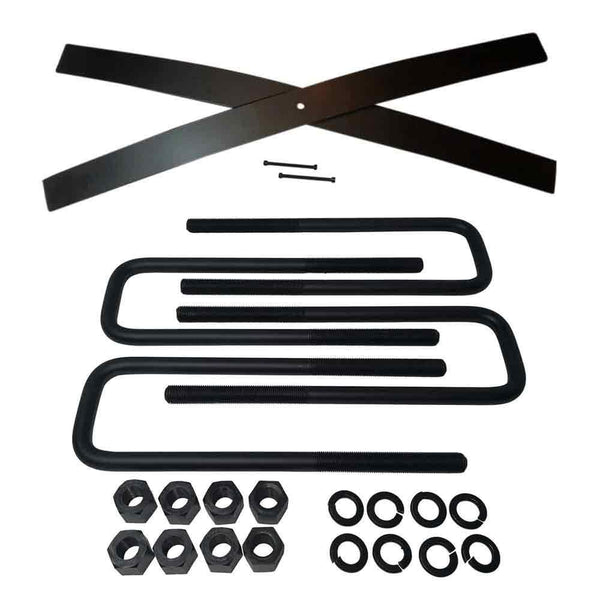 Rear Suspension Lift Kit for Chevrolet Silverado and GMC Sierra 1500 2WD 4WD - LSPRING2-UBLT12-2
