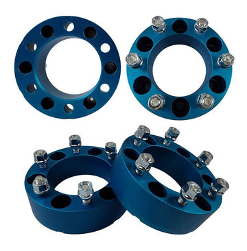 Toyota FJ Cruiser 2WD 4WD 2-Inch Blue Wheel Spacers
