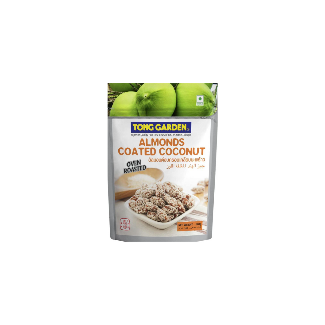 Healthy Snack (Halal): 140g Tong Garden Almonds Coated With Coconut