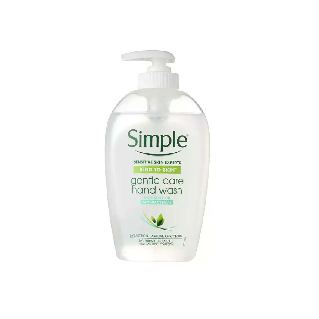 Protection Pack: 250ml Simple Anti-Bacterial Gentle Care Hand Wash