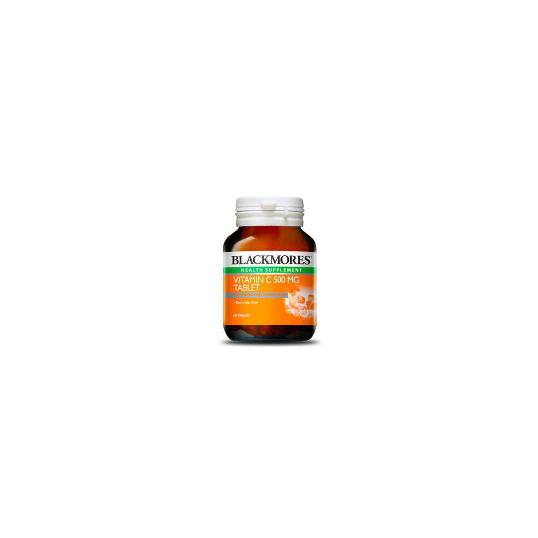 Immunity Pack: Blackmores Vitamin C 500mg 60 tablets I Halal