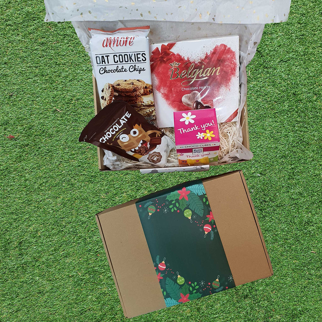 Care Pack: Special Christmas Chocolate Delight Pack @ $33 each - MOQ: 50