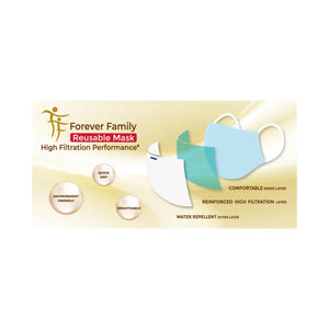 Protection Pack: Forever Family Reusable Mask
