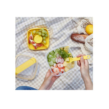 Load image into Gallery viewer, Others: Lock and Lock To-Go Salad Box with Spork and Knife 950ml Square