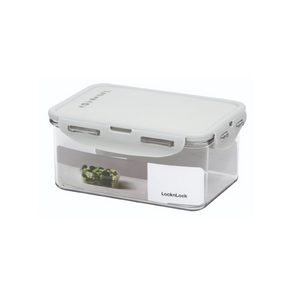 Others: Lock and Lock Bisfree Grey Food Container Grey 1.1L Rect