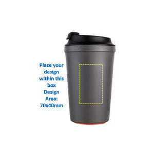 Drinkware Pack: Artiart Non-Slip Suction Coffee Cup (340ml)