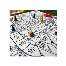 Load image into Gallery viewer, Support Local: Our Button Nose Reusable Silicone Colouring Mat – Singapore Game and Colour Mat (includes 3 pcs of marker)