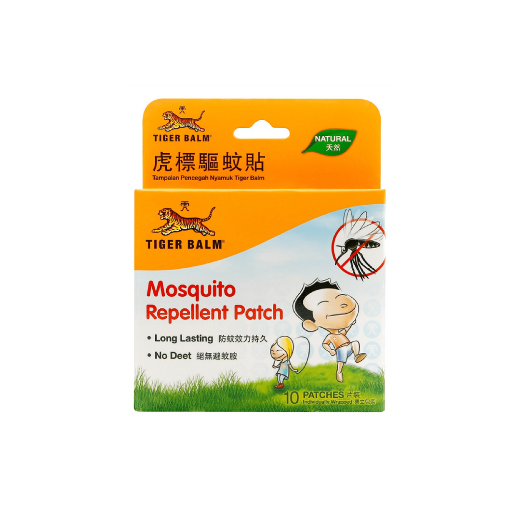 Protection Pack: 60ml Tiger Balm Mosquito Repellent Patch 10's