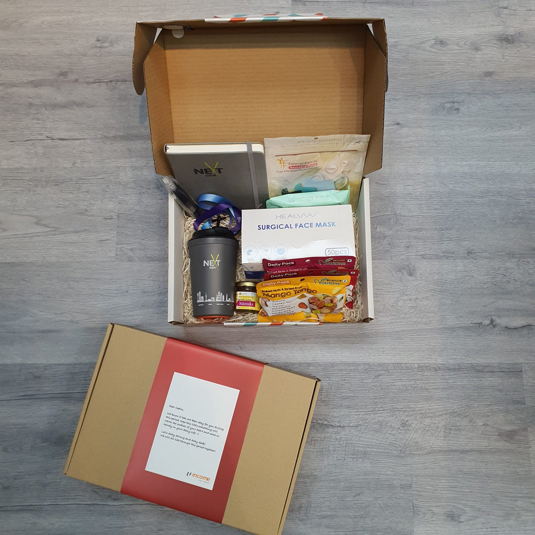 Welcome Back To Office (WB2O) Pack @ $58 each - MOQ: 100