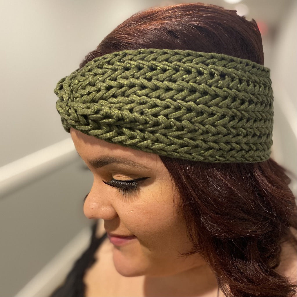 LIMITED EDITION: Harmony Headband in Olive