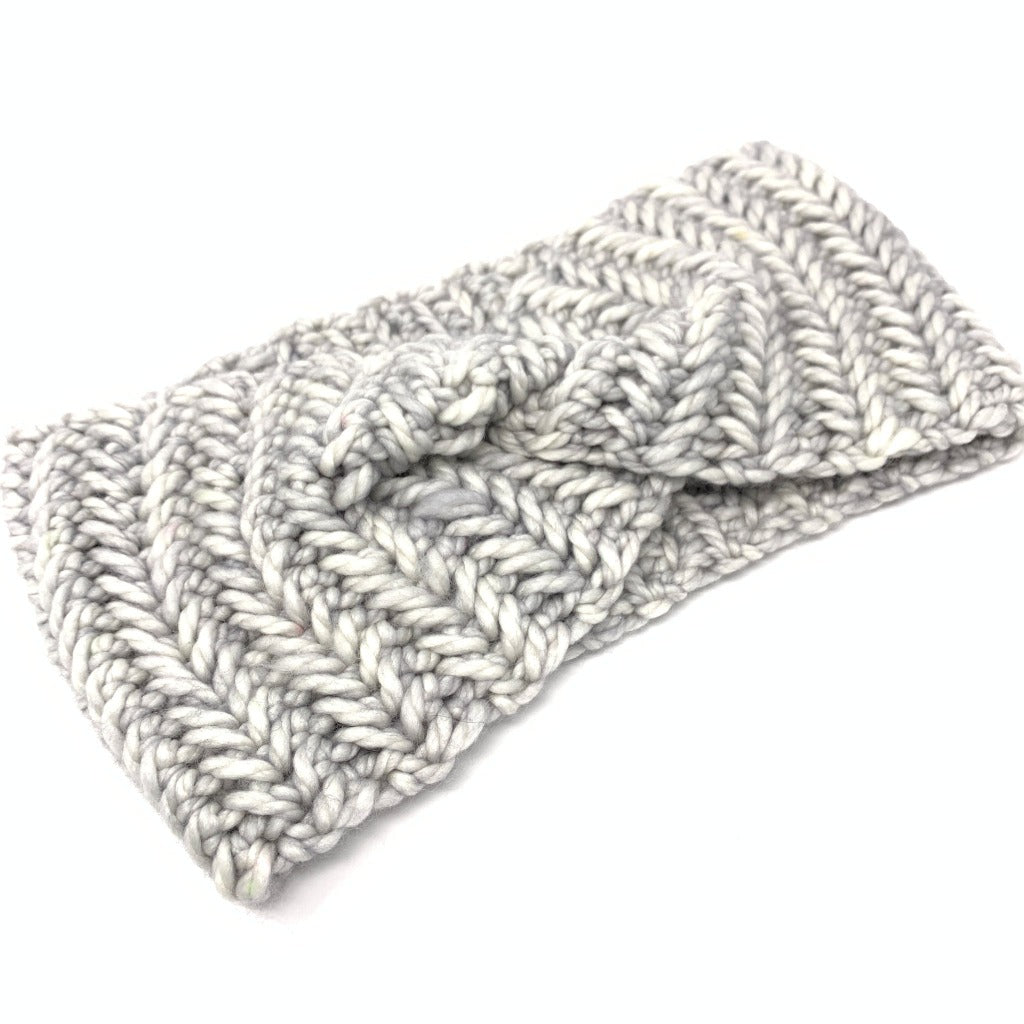 Laine Headband in Silver