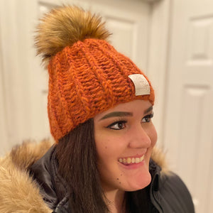 LIMITED EDITION: Noelle Hat in Spiceberry