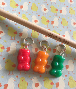 Gummy Bear Stitch Marker