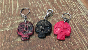 Sugar Skull Stitch Marker
