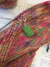 Load image into Gallery viewer, Miniature Book Charm Stitch Marker, Pride and Prejudice, Sense and Sensibility, Jane Austen inspired