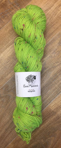 Superwash Merino Coloured Donegal Nep Sock Yarn, 100g/3.5oz, Gamma