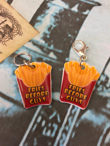 Fries Before Guys Stitch Marker