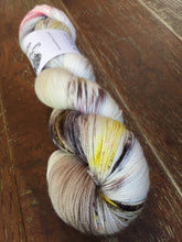 Load image into Gallery viewer, Superwash Merino Nylon Titanium Sock Yarn, 100g/3.5oz, Dude In A Lab Coat