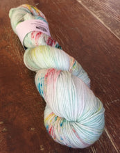 Load image into Gallery viewer, Superwash Merino Nylon Platinum Sock Yarn, 100g/3.5oz, Turn Up The Radio