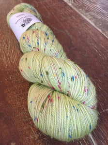 Superwash Merino Coloured Donegal Nep Sock Yarn, 100g/3.5oz, Dinner At Eight