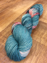 Load image into Gallery viewer, Superwash Bluefaced Leicester Nylon Ultimate Sock Yarn, 100g/3.5oz, Don't Stop, Let's Party
