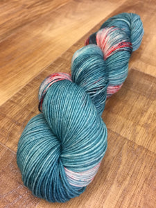 Superwash Bluefaced Leicester Nylon Ultimate Sock Yarn, 100g/3.5oz, Don't Stop, Let's Party