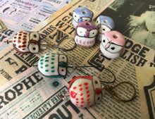 Load image into Gallery viewer, Ceramic Owl Stitch Marker