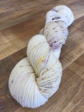 Load image into Gallery viewer, Superwash Bluefaced Leicester Nylon Ultimate Sock Yarn, 100g/3.5oz, Lavender Blonde